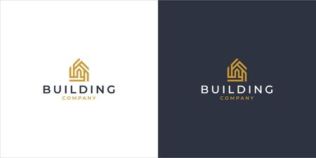 House logo design in modern style