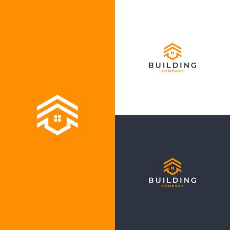 Inspirational logo design that bring real estate concept