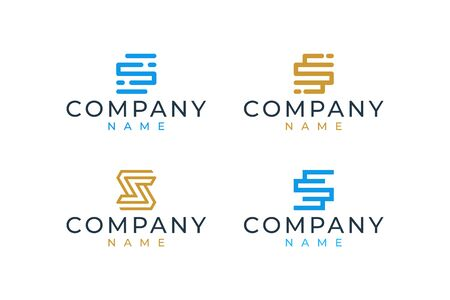 S logo design that suit to be placed everywhere