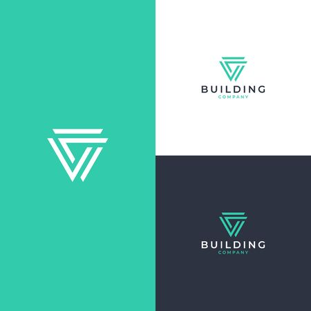 Inspirational abstraclt logo design concept