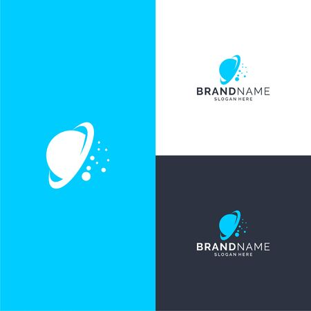 Inspirational space logo design