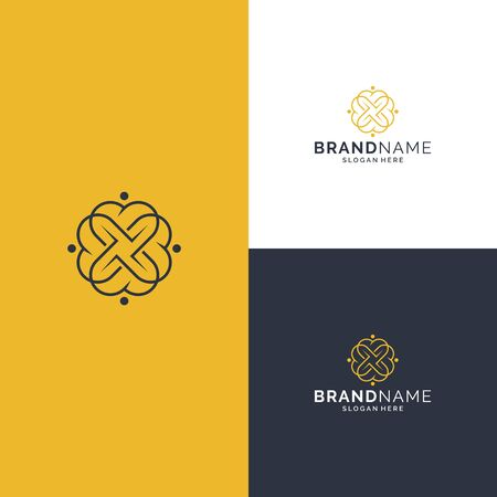 Inspirational feminine beauty logo design that suit to be placed everywhere