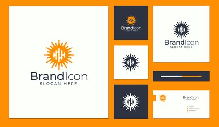 Logo and business card design that suit to be placed everywhere