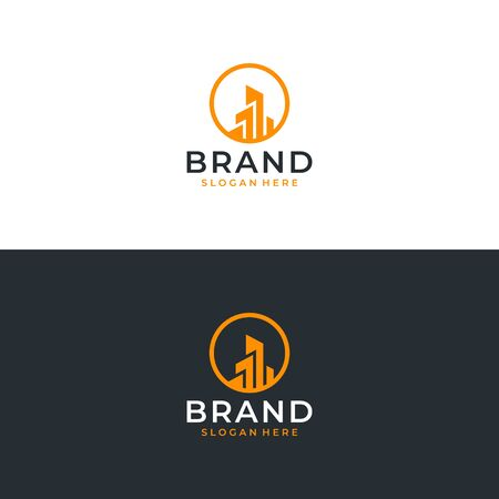 Real estate logo design that can be placed everywhere