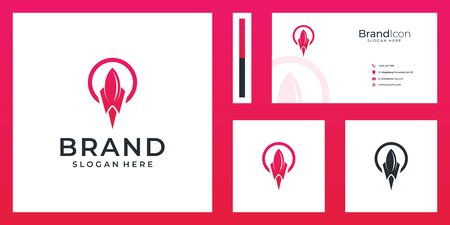 Inspirational logo and business card design that suit to be placed everywhere
