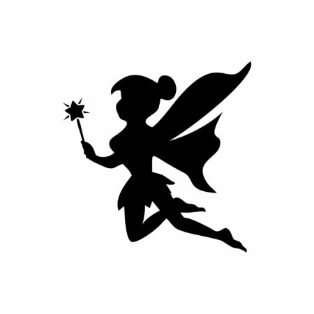 Modern inspirational fairy logo design that suit to be placed everywhere