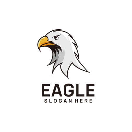 Eagle logo design mascot inspiration. Good for icon, brand, identity, animal, and business company Logó