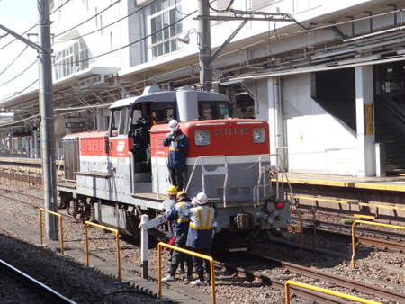 Diesel locomotive of Japan Railway (JR)