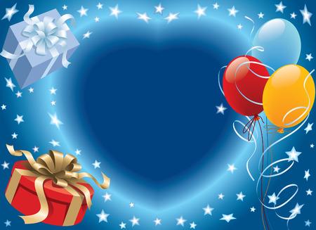 Prêt pour la décoration de ballons d'anniversaire et fête Vecteurs