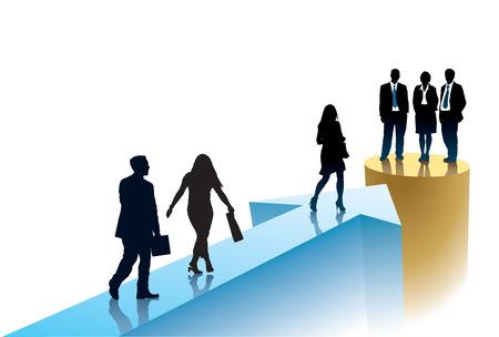 Succesvolle ondernemers gaan een doel