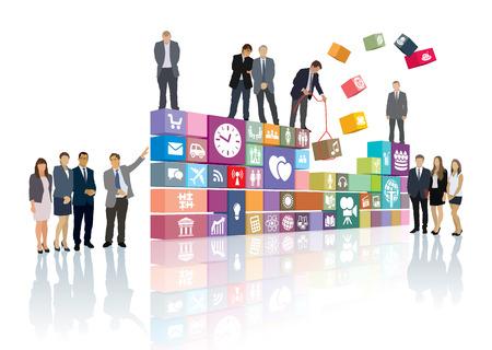 Grupo de personas que está desarrollando la página web o el software
