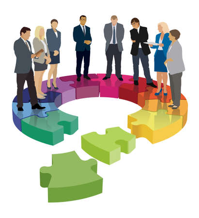 The problem with the damaged organizational structure of the company.