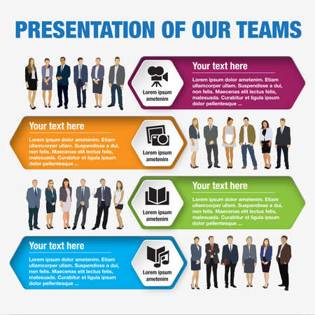 Design speech diagrams for infographic and website. Creative testimonials template.