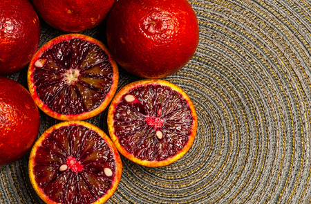 ruby red blood oranges