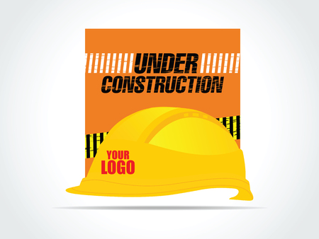 Under Construction helmet construction safety industry hat