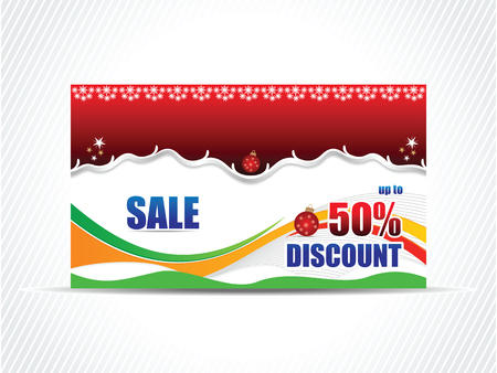 Vector Sale card discount card