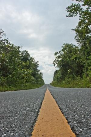 Roads, The road, asphalt, black, cars, high hills., lanes, long road, outdoor, paved, signs