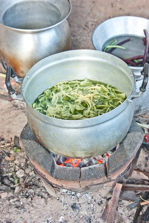 folkways: Rice and catering of the rural people. Always use charcoal cooking. The food is cooked to taste something good. Become self-sufficient life of the villagers.