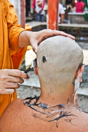 be the identity: Thailand is Buddhism city has the respect builds   wasp   Buddha has the faith builds   wasp   the Buddhism , be culture good tradition , there are a lot of monks in Thailand , and have construction accident identity site in the Buddhism stays general ,