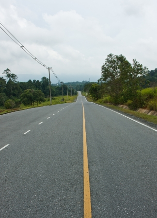 standardized: road , the route that offer the convenience to the vehicle that can use the speed well , designing road must standardized not decayed strong easy Stock Photo