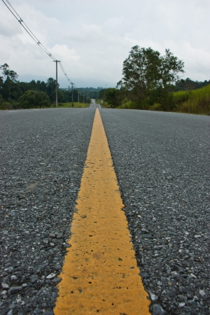 road , the route that offer the convenience to the vehicle that can use the speed well , designing road must standardized not decayed strong easy Stock Photo