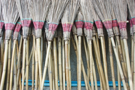 appropriately: The invention of the broom to clean up the particular There are various options appropriately
