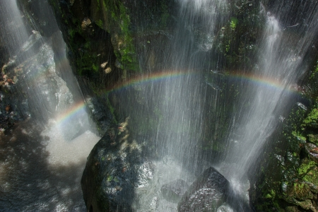 natural wonders: Waterfalls are a beautiful natural wonders  Born out of the water that falls from the cliff  High, some low, some of the beautiful sights
