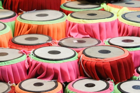 Drum is a musical instrument that sounds practical. Be attributed to any other type of instrument. Mix together a great musical. photo