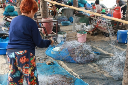 Fishermen are people living on the seashore. Fishery is mainly As primary occupation RMF And to the trade