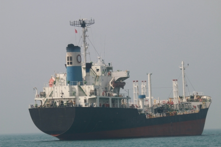 tremendous: Large cargo ships The fleet was tremendous. To obtain many products per trip. Using new technology to work