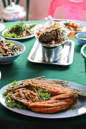 national identity: La Thailandia � un piatto di cibo. Che vengono acquisiti e trasmessi continuamente dal passato. Come una identit� nazionale Archivio Fotografico
