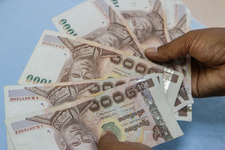 Money refers to any object or document that is generally accepted in exchange for goods and services. And settlements in a country or in a particular economic context. photo