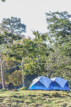 commercially: Tent camping is finished fabrics The commercially available Intended for a single location, such as a forest, ideal for moving and storage easy.