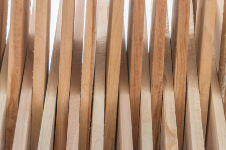 perennials: Wood is a solid material made from the heartwood of the tree trunk. Most of the perennials Groups such as hardwood and softwood timber such as teak favorites redwood timber. Stock Photo