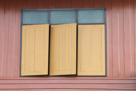 window opening: A window opening in the wall or door. The windows allow light to pass through or be a solid. That may block the wind or noise. Most windows have glass or translucent materials or other opaque materials.