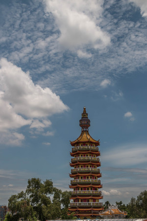 the place is important: Buddha stupas, pagodas and stupas on important meaning. Respected, person, place, or object to worship.