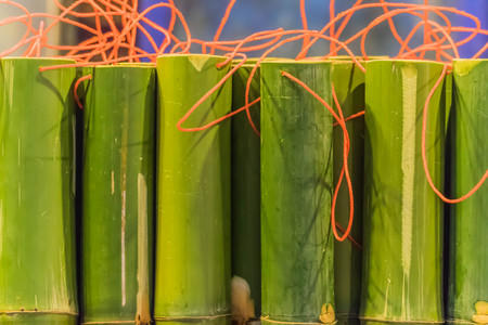 Bamboo is a grass family tree A tall, very Utilized by many. Leaves also become food for the pandas as well. Stock Photo