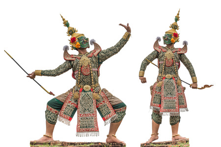 Khon is a noble Thai art of elegance. Elegant and delicate One type of dance performance based on drama. The only difference is that the dance is added.
