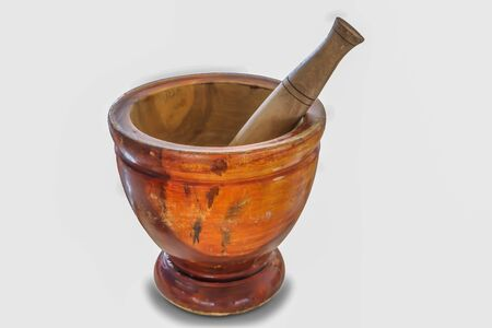 The mortars used in the kitchen, kitchen utensils Фото со стока