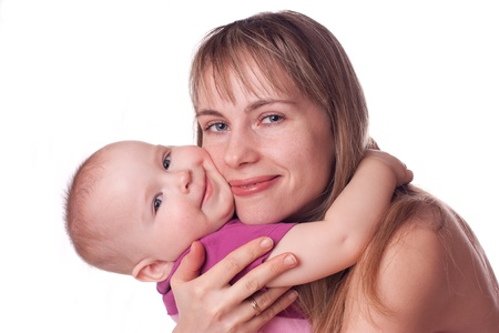 Little girl with mother Stock Photo - 9803236