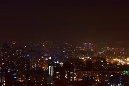 Night Almaty. South Kazakhstan