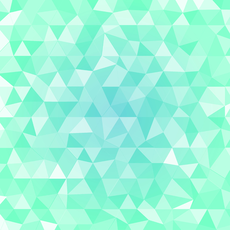 green and blue Background with translucent triangle, illustration