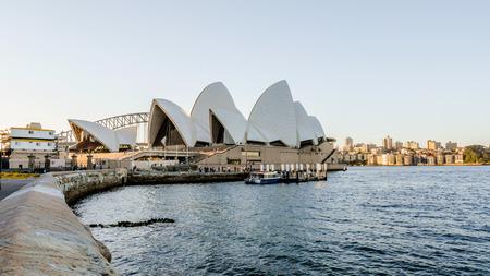 SYDNEY, AUSTRALIA - OCTOBER 9,2013 : Sydney Opera House and view around Sydney Harbour Bridge on October 9, 2013 in Sydney, Australia Editorial