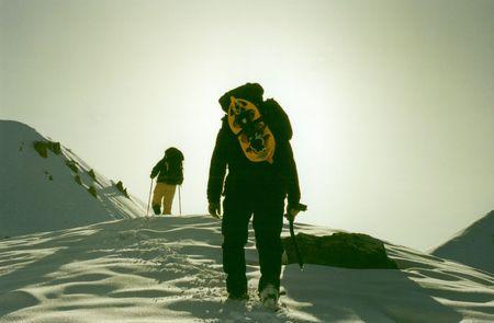 Montage: Zu Kletterer auf die Montage