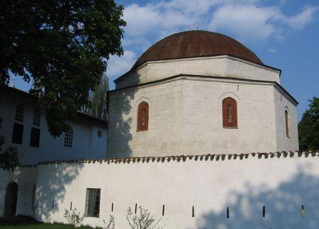 bilding: Tartar citadel in Crimea