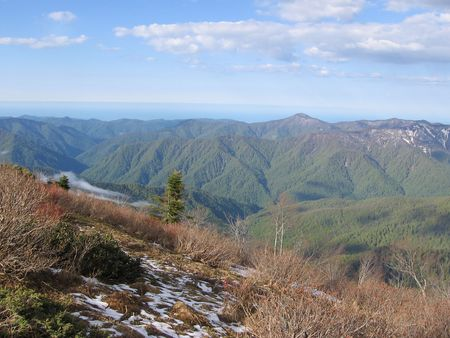 Spring in forests and mountains Caucasus Stock Photo - 400823
