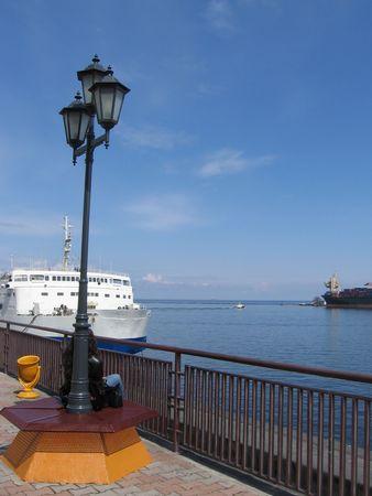 oiler: Port Odessa in Ukraine