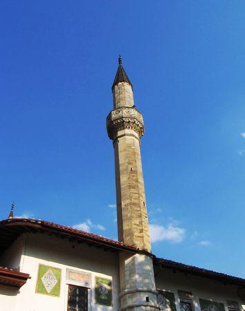 bilding: Tartar Citadel i Bahchisaray on the Crimea