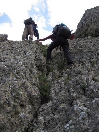 Two climbers Stock Photo - 447480