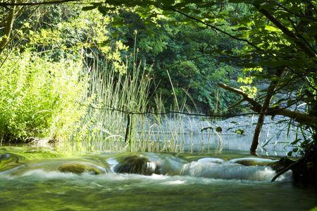 Beautiful waterfull Stock Photo - 493254
